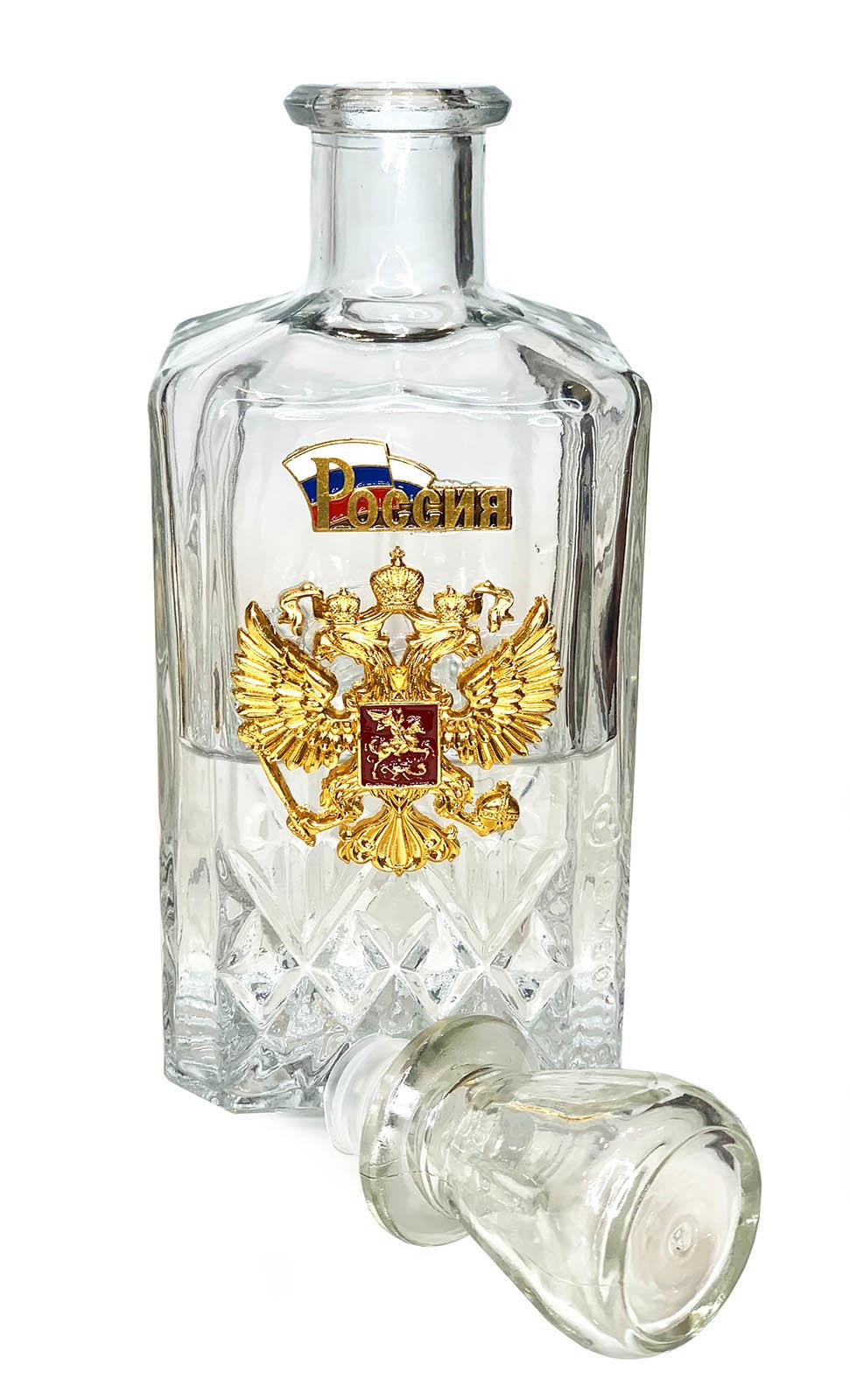 Подарочный набор для водки Россия