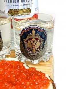 Алкогольный набор ФСБ стопки + пивная кружка