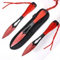 Набор из 3-х сбалансированных метательных ножей