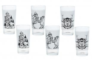 """Набор из 6 стаканов """"Охотник"""" с доставкой"""