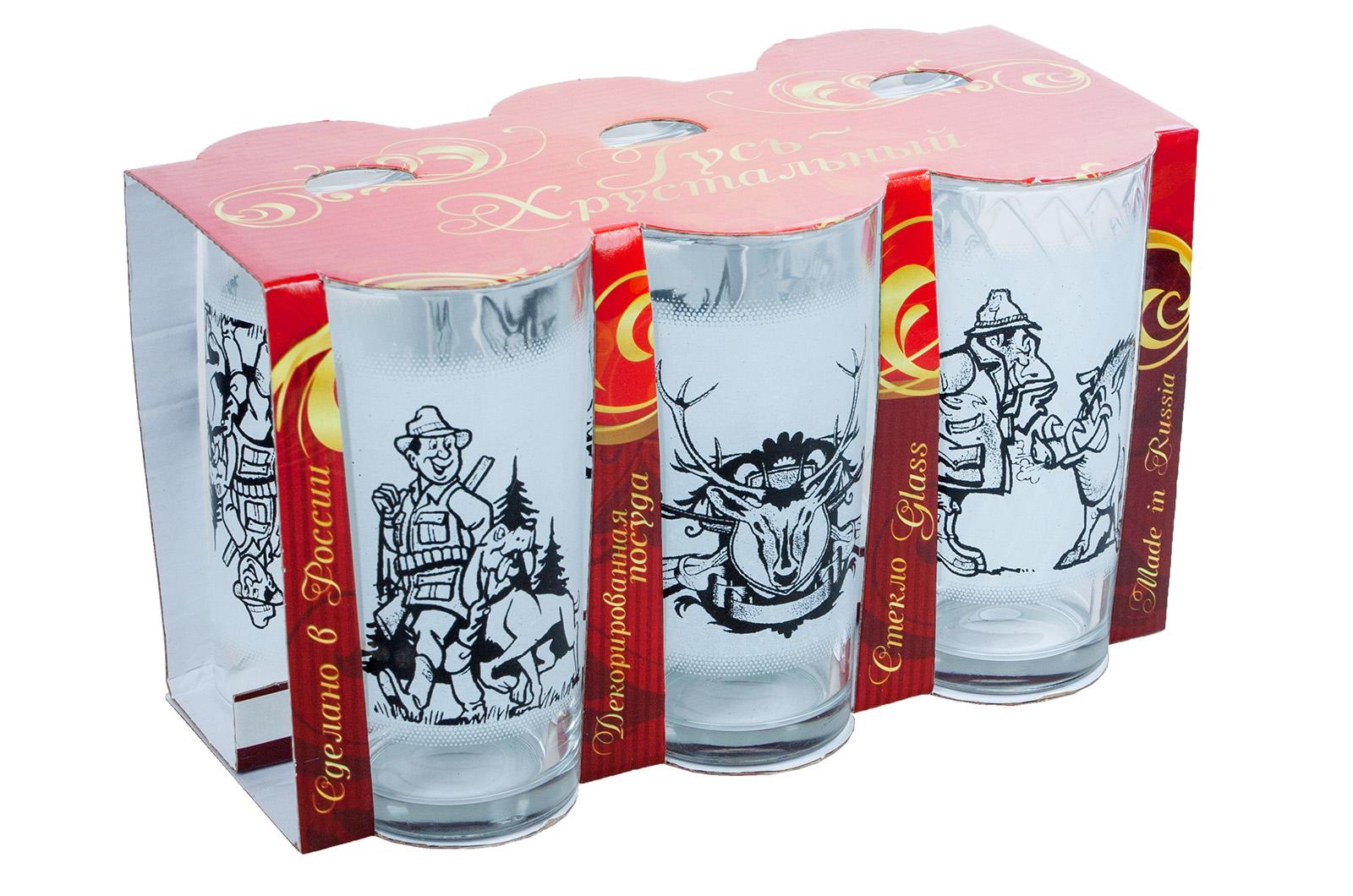 """Набор из 6 стаканов """"Охотник"""""""