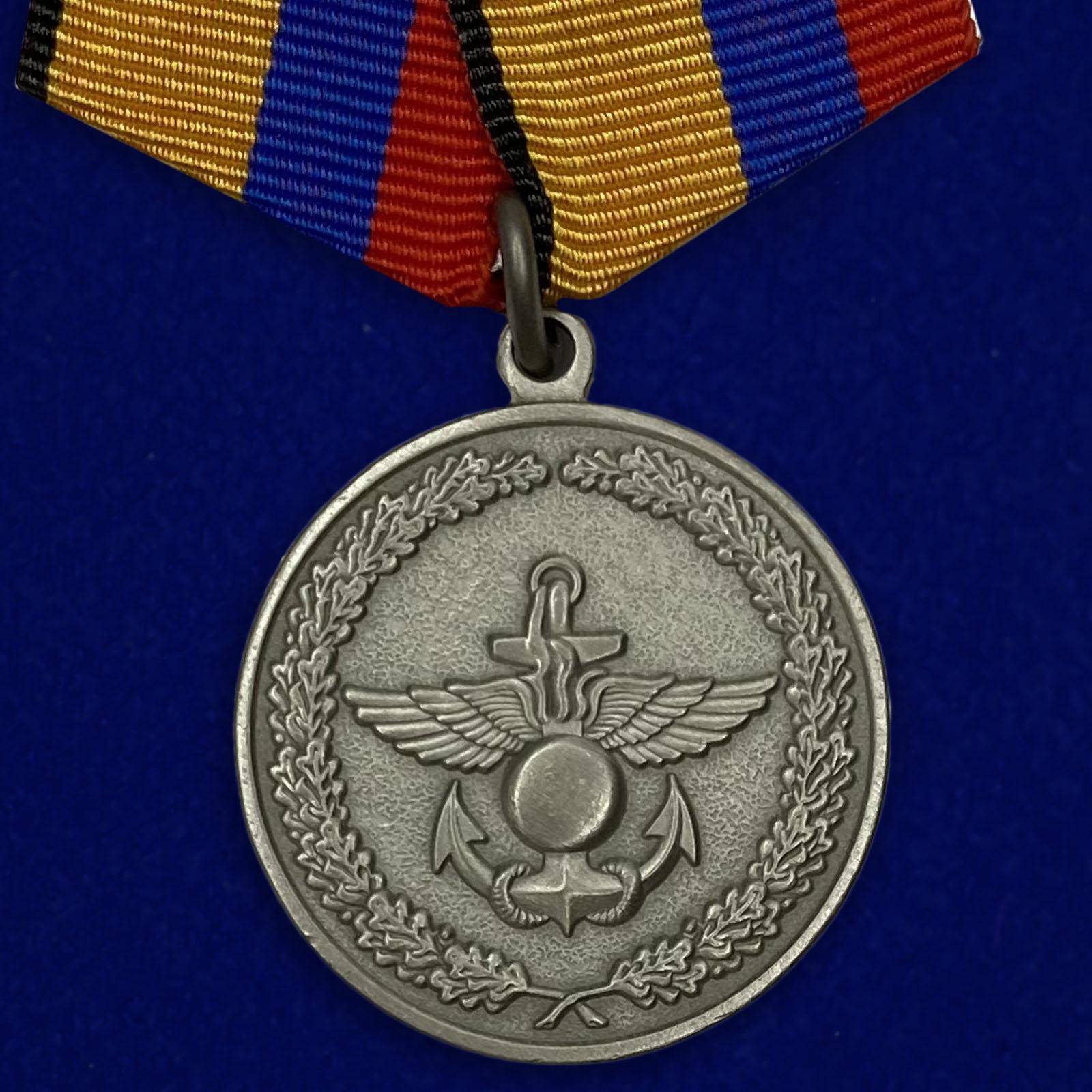 Медаль «За отличие в учениях» МО РФ  №83