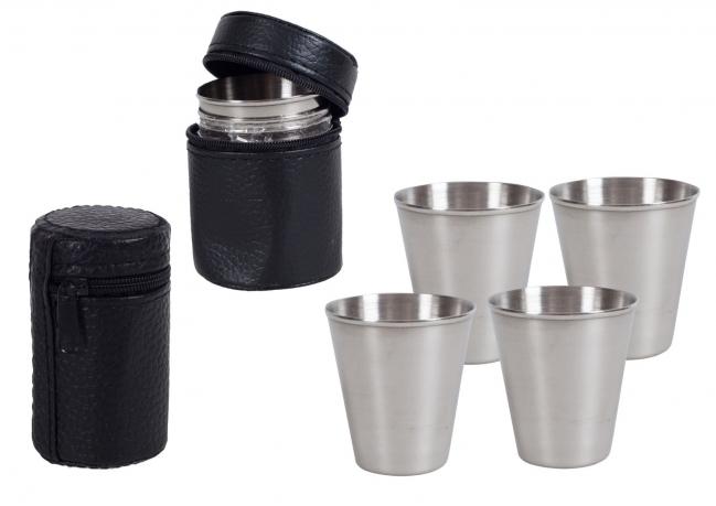 Набор металлических стаканчиков №107