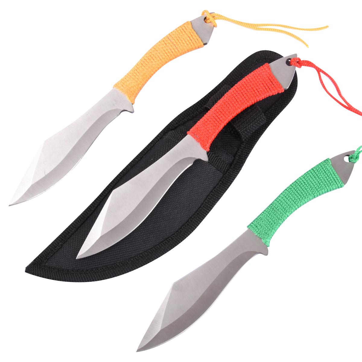Набор метательных ножей (3 шт.) - купить с доставкой и самовывозом