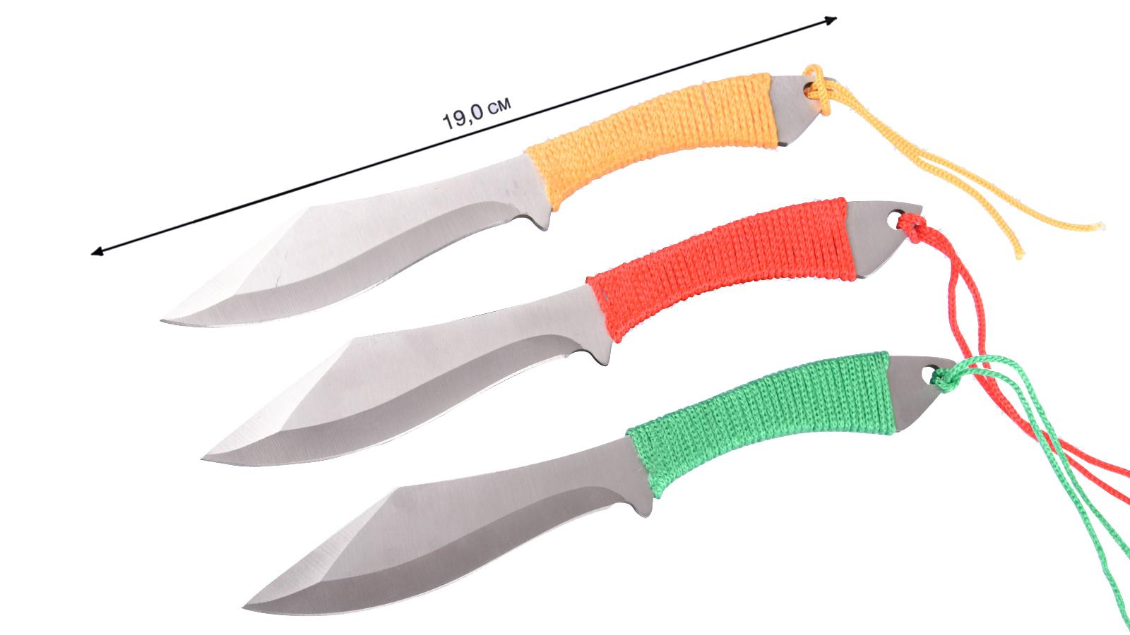 Набор метательных ножей (3 шт.) - купить в интернет-магазине