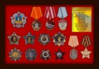 Набор муляжей государственных орденов СССР 1941-1945 гг. (14 шт.)