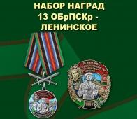 Набор наград 13 ОБрПСКр Ленинское