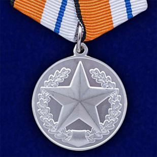 """Медаль """"За отличие в соревнованиях"""" 2 место"""