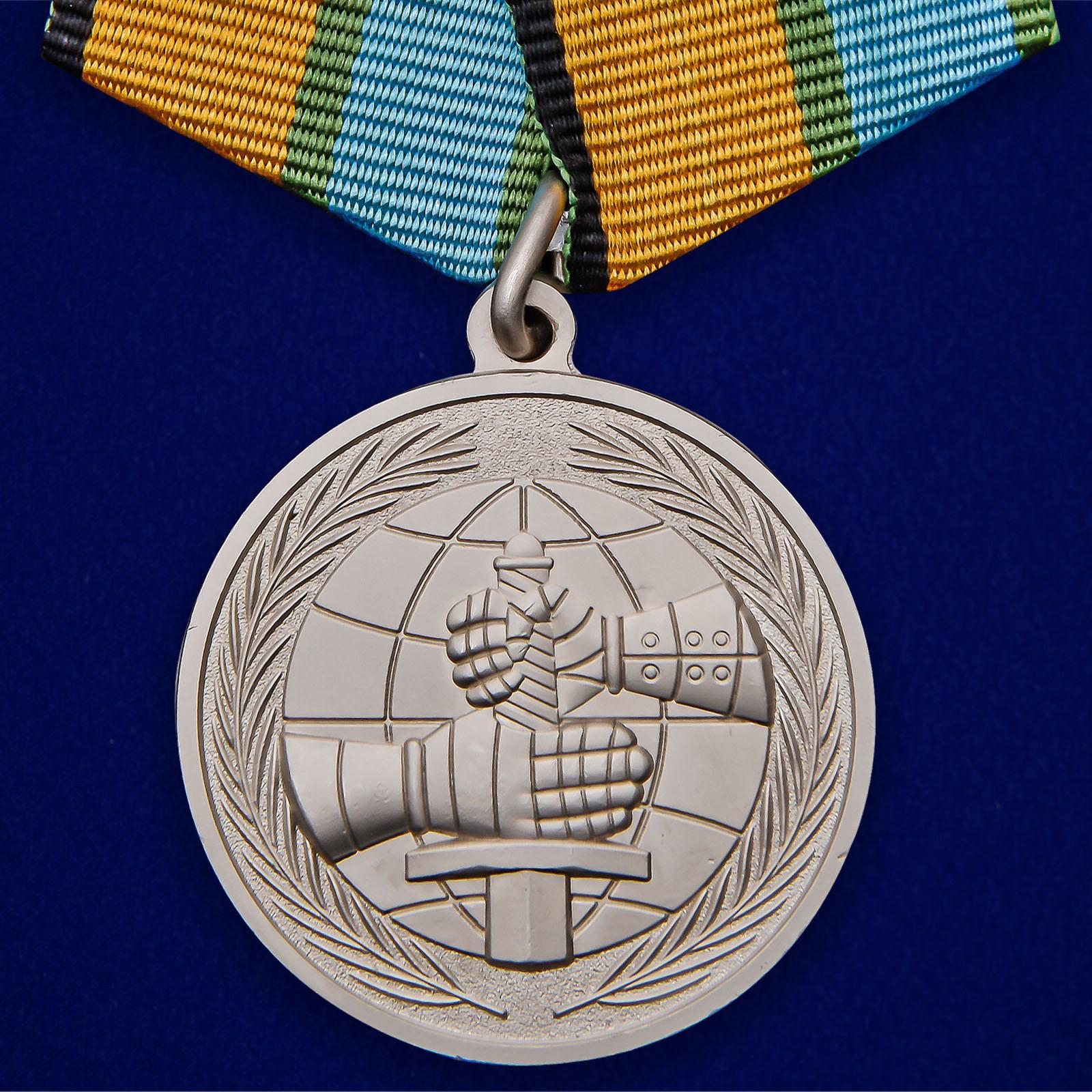 """Медаль МО """"За вклад в развитие международного военного сотрудничества"""""""