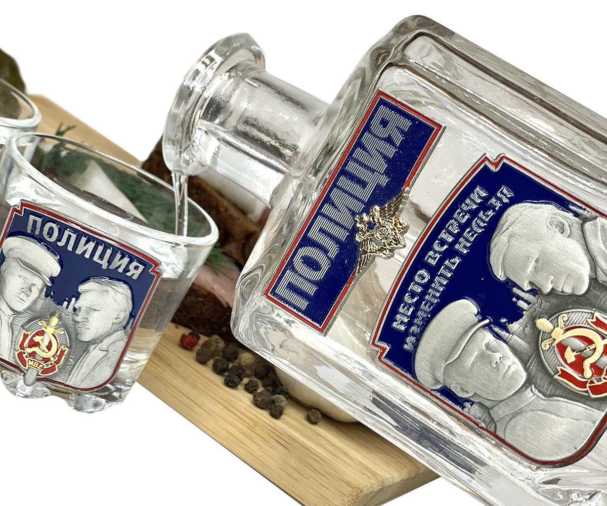Подарочный набор для крепких напитков Полиция