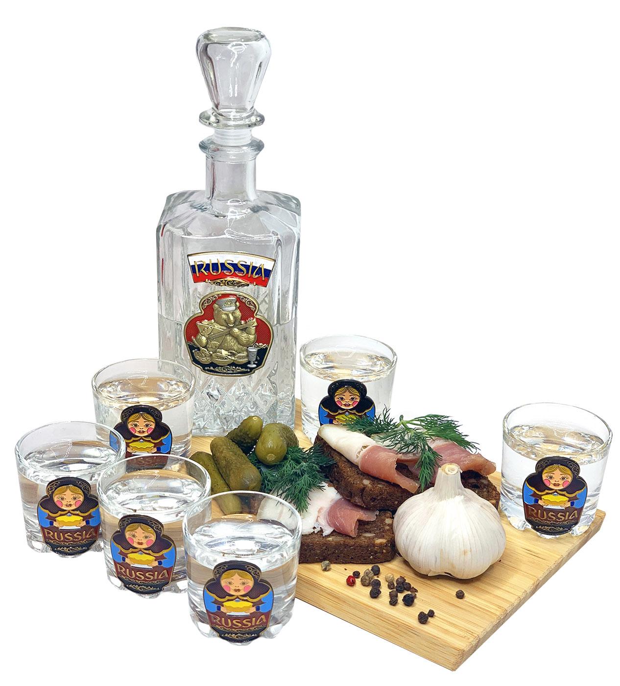 Купить набор для спиртных напитков графин стопки