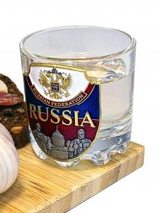 Набор для крепких напитков Россия графин и 6 стопок