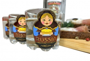 Подарочный набор Russia для спиртных напитков