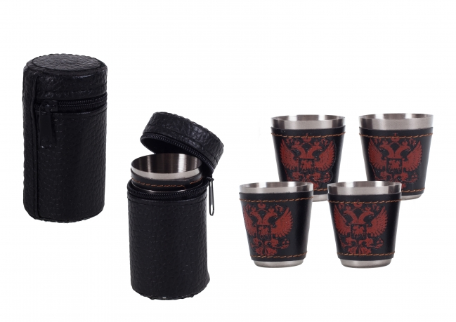 Подарок для туриста - набор стаканчиков «Россия» (№ 110)