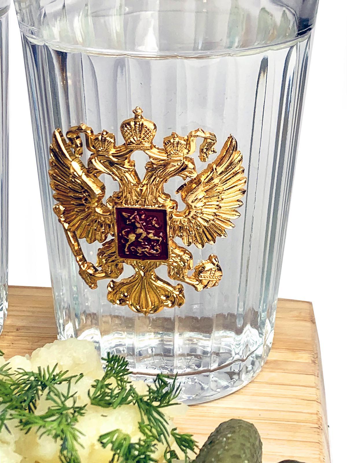 Подарочный набор стаканов Россия