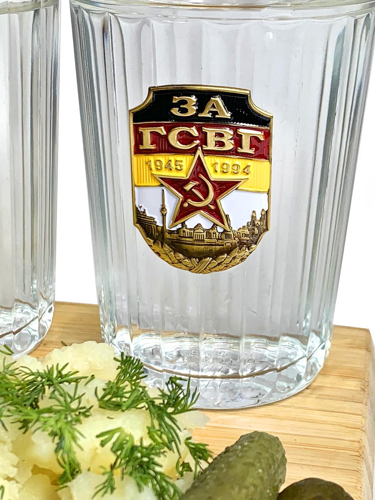 Набор граненых стаканов ГСВГ