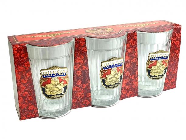 Набор стаканов Русский медведь