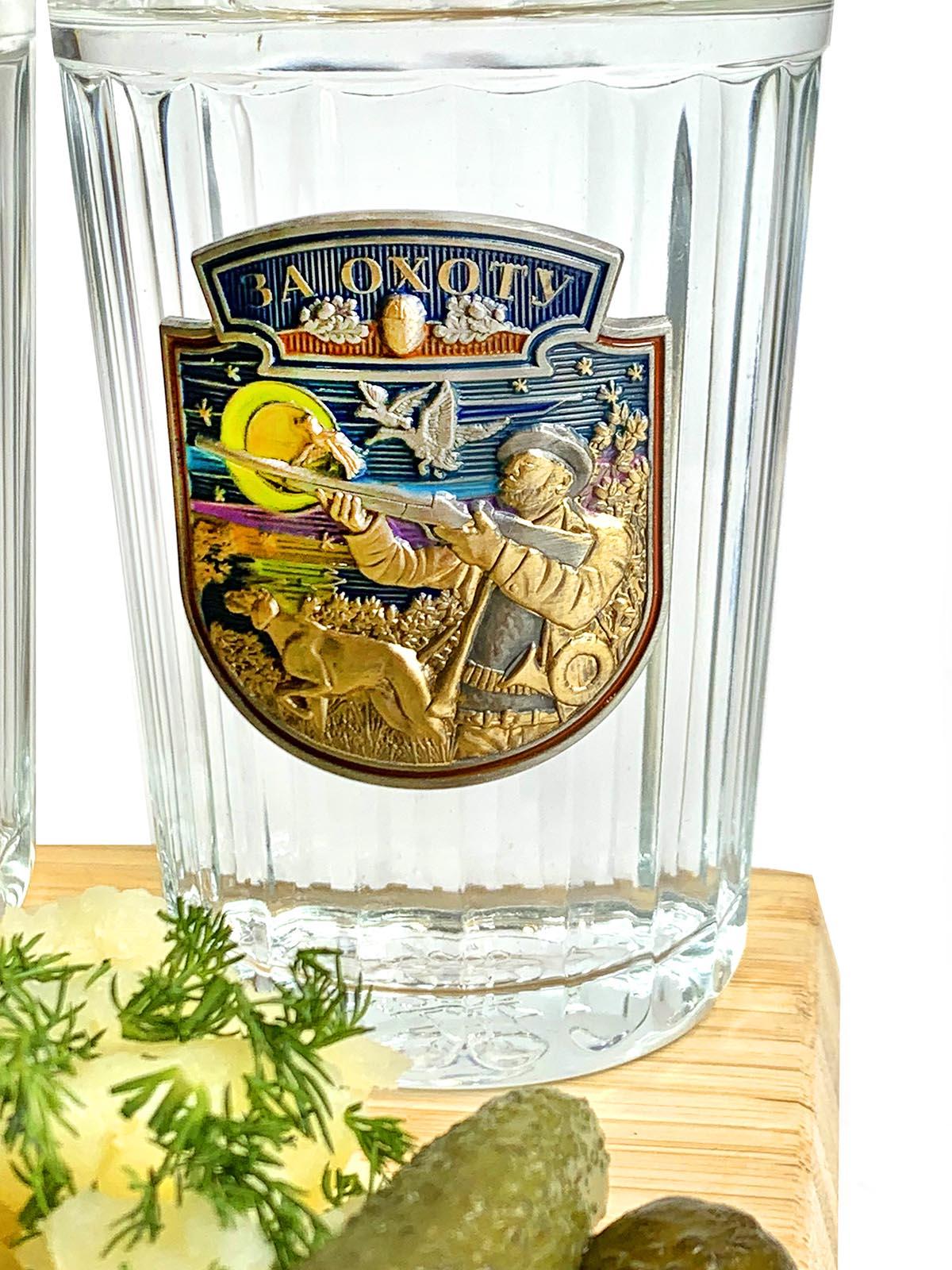 Сувенирно-подарочный набор стаканов Охота