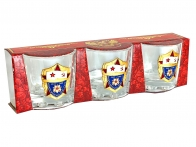 Подарочный набор стопок для мужчины ВМФ СССР