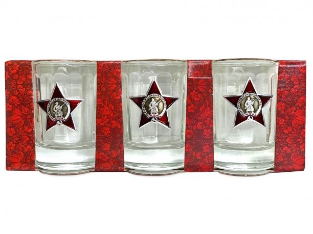 Набор стопок Орден Красной Звезды