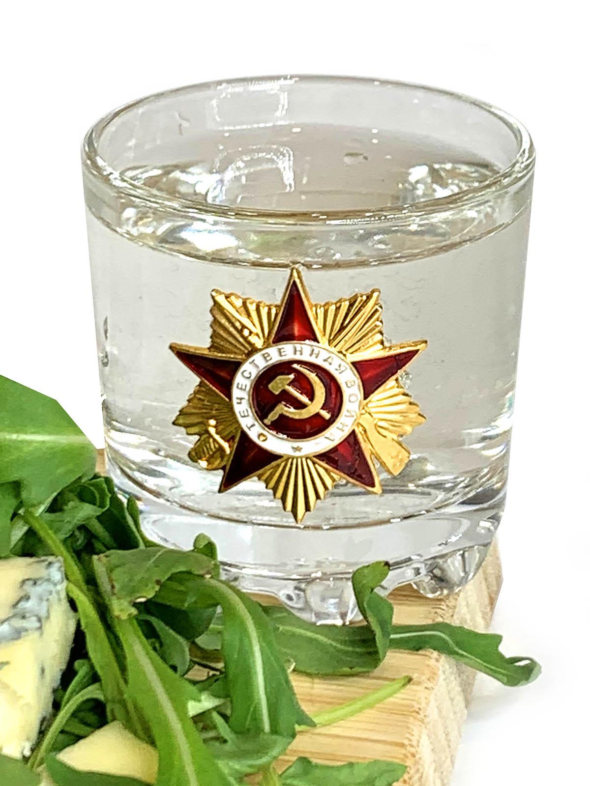 Набор стопок по 50 мл Орден Отечественной войны