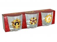 Набор стопок Ордена эпохи СССР