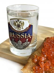 Подарочный набор стопок Россия