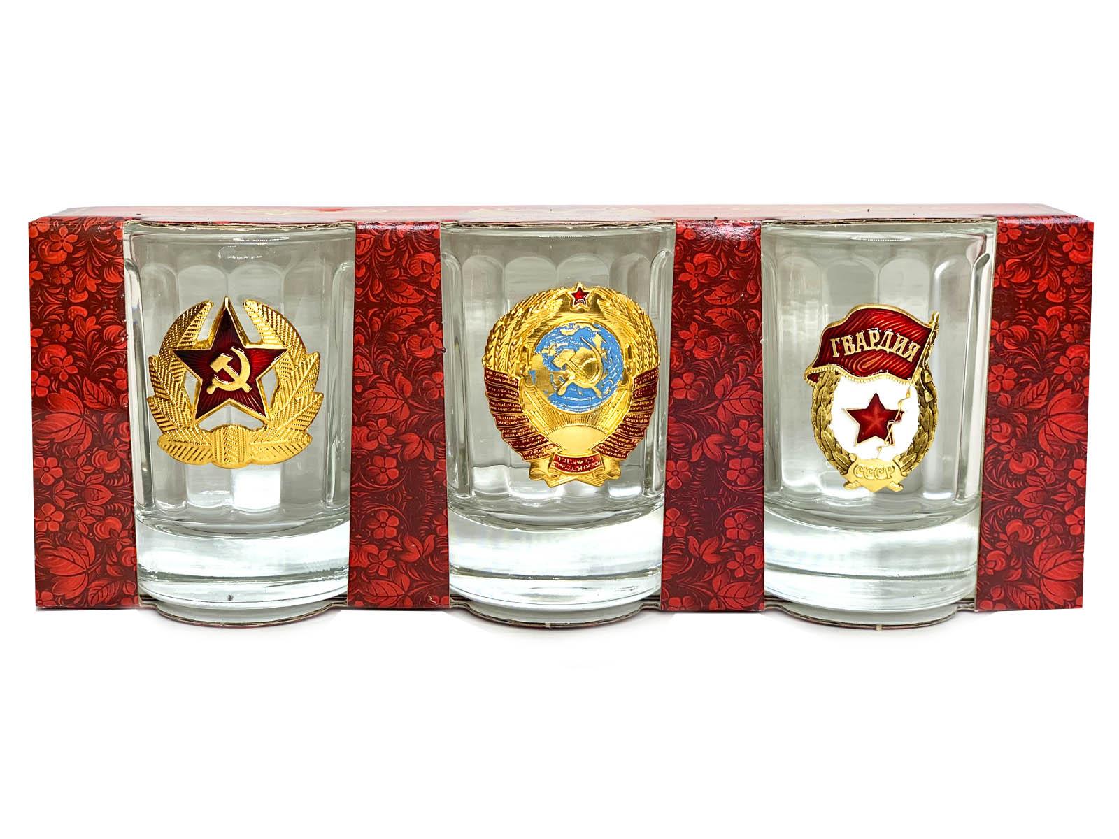 Набор стопок Красная Армия