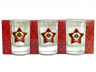 Подарочный набор стопок Советская милиция