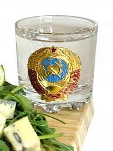 Набор стопок Советский герб в подарочной упаковке