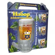 Подарочный набор для алкогольных напитков ВМФ СССР