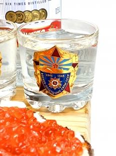 Презентабельный набор для спиртного ВВС СССР