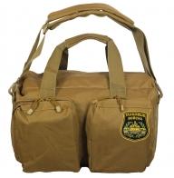 Надежная армейская сумка-рюкзак с нашивкой Танковые Войска