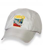 Надежная белая кепка с термотрансфером ПВО