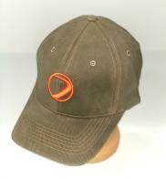 Надежная брендовая кепка цвета хаки
