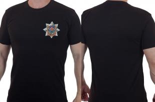 Надежная черная футболка ВДВ