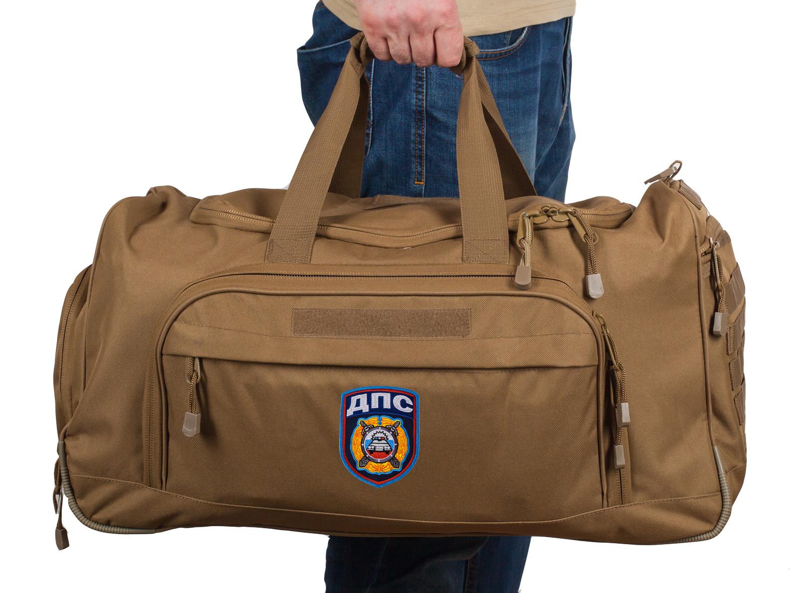 Купить надежную эргономичную сумку 08032B Coyote с нашивкой ДПС в подарок с доставкой