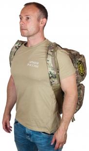 Надежная камуфляжная сумка с нашивкой Танковые Войска - купить в розницу