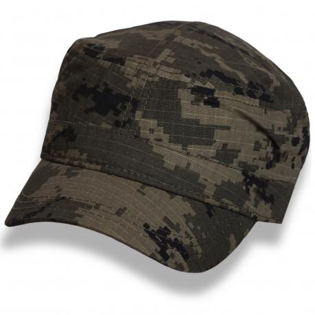 Надежная кепка-немка пиксельный камуфляж