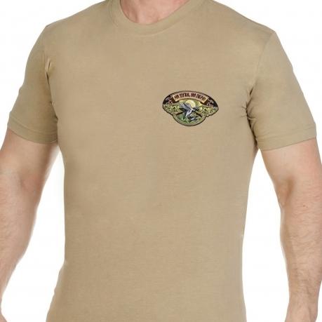 Надежная охотничья футболка с вышивкой Ни Пуха Ни Пера