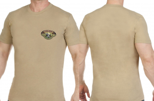 Надежная охотничья футболка с вышивкой Ни Пуха Ни Пера - купить в розницу