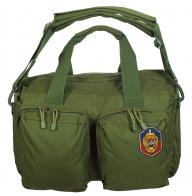 Надежная походная сумка-рюкзак с нашивкой УГРО