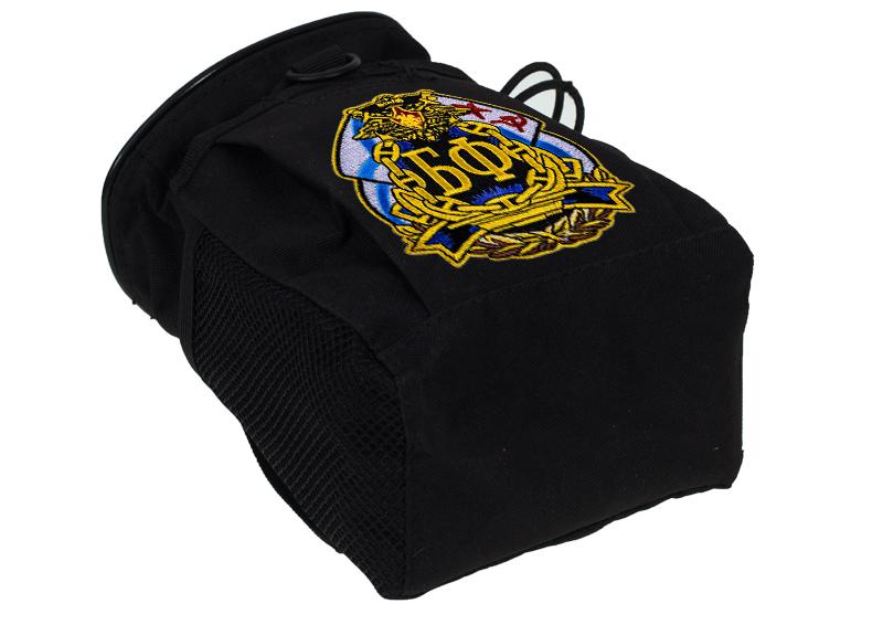Купить надежную поясную сумку для фляги с нашивкой БФ с доставкой онлайн