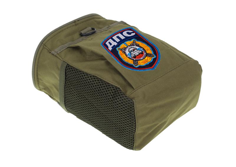 Надежная поясная сумка для фляги с нашивкой ДПС - купить по низкой цене