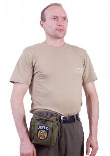 Надежная поясная сумка для фляги с нашивкой ДПС - купить онлайн