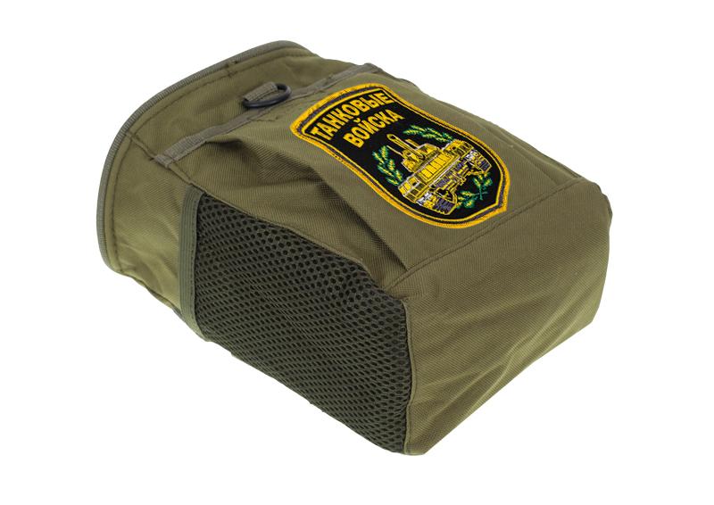 Надежная поясная сумка для фляги с нашивкой Танковые Войска - купить в Военпро