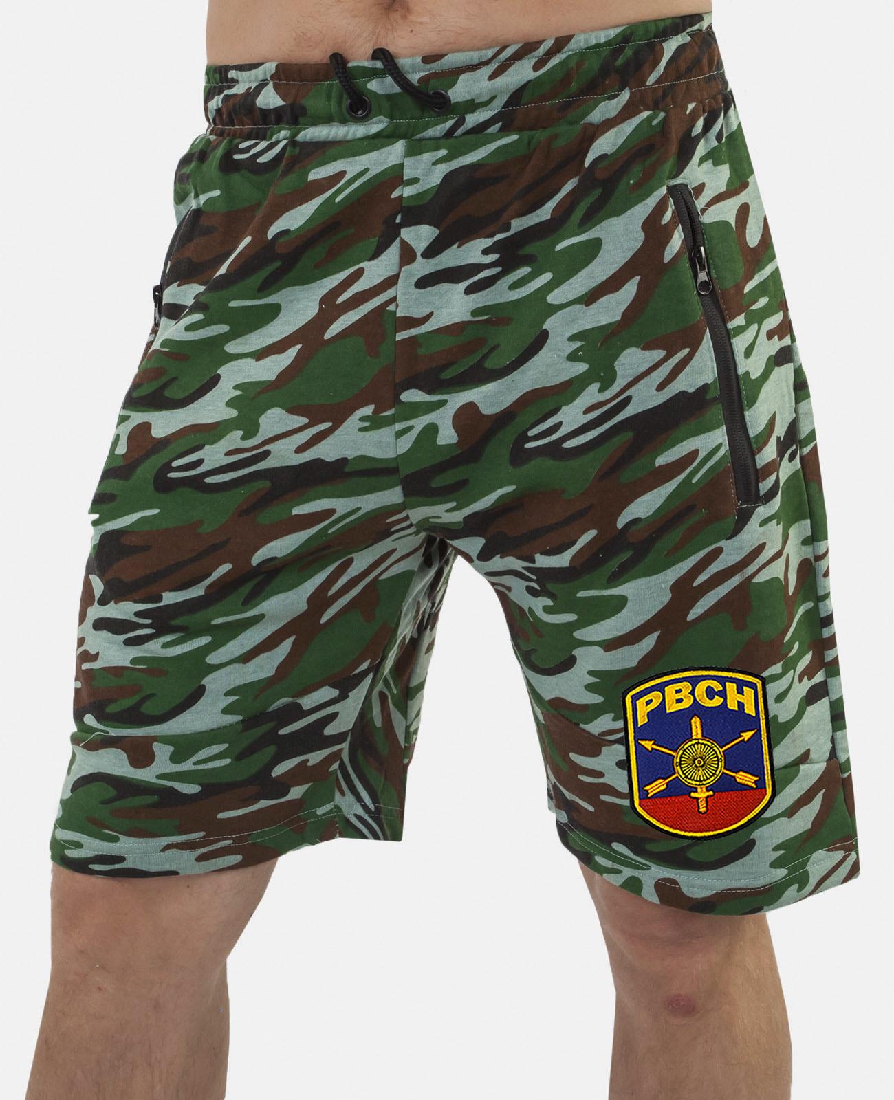 Купить надежные армейские шорты с карманами и нашивкой РВСН с доставкой онлайн