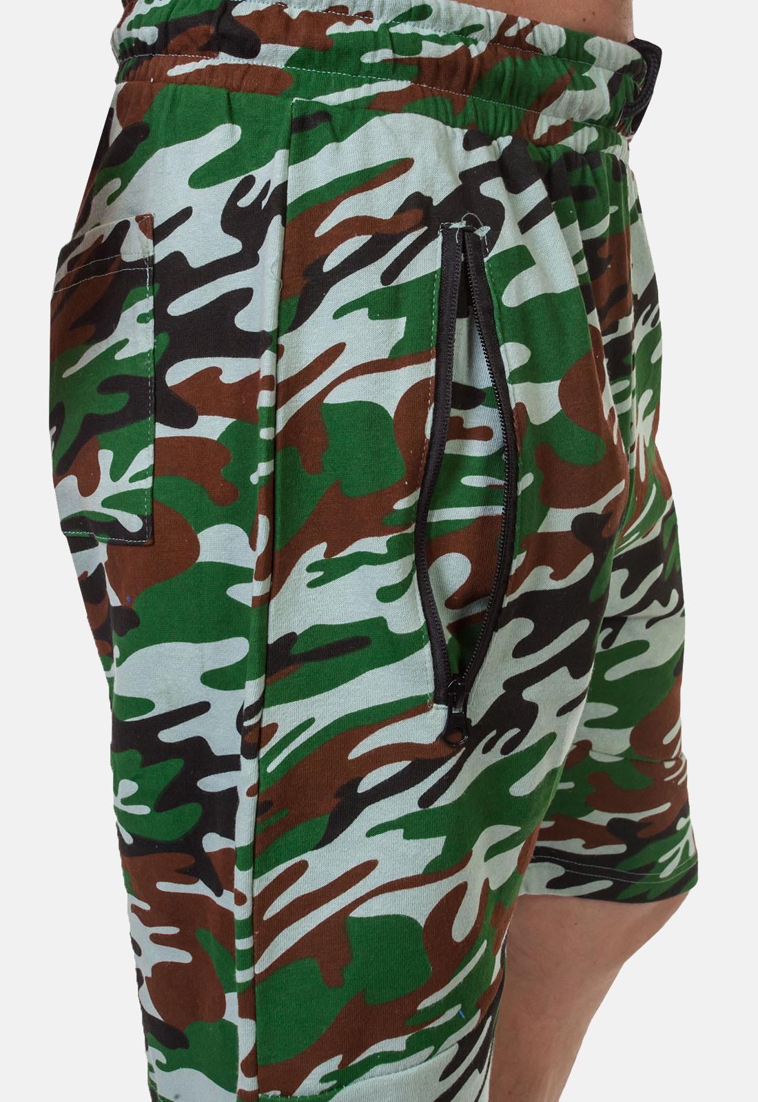Надежные армейские шорты с нашивкой Росгвардия - заказать оптом