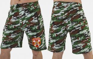 Надежные армейские шорты с нашивкой Росгвардия - заказать в розницу