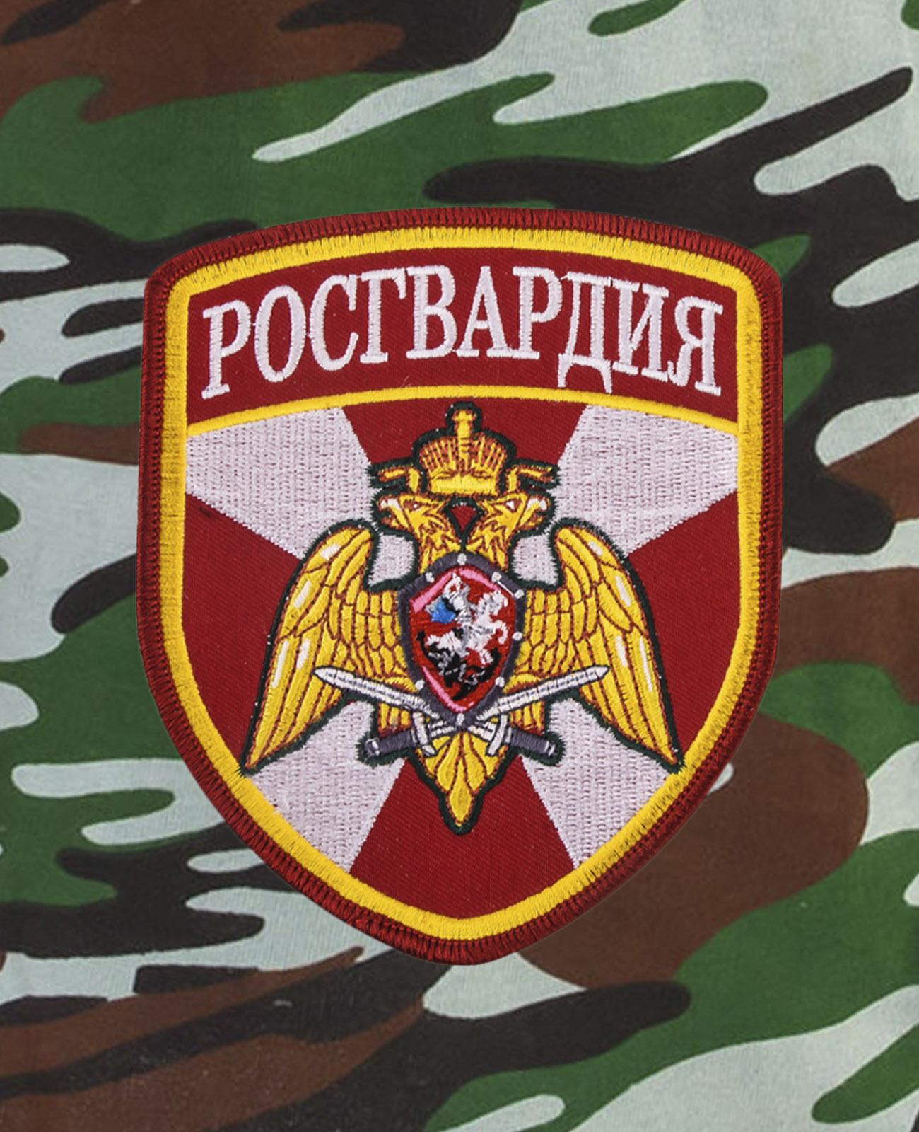 Надежные армейские шорты с нашивкой Росгвардия